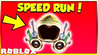 GOLDEN DOMINUS SPEED RUN EVENT! GETTING THE GOLDEN WING OF PATHFINDER IN RECORD TIME! (Roblox LIVE)