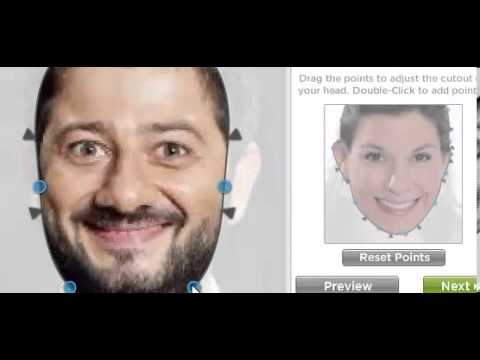 Вставить лицо онлайн