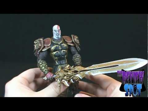 Toy Spot - Neca God of War II Kratos in Ares Armor