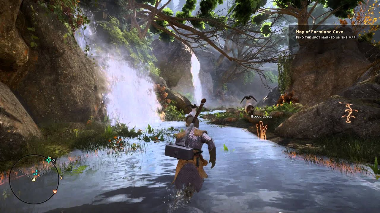 Dragon Age: Inquisition - The Hinterlands - Map of Farmland Cave ...