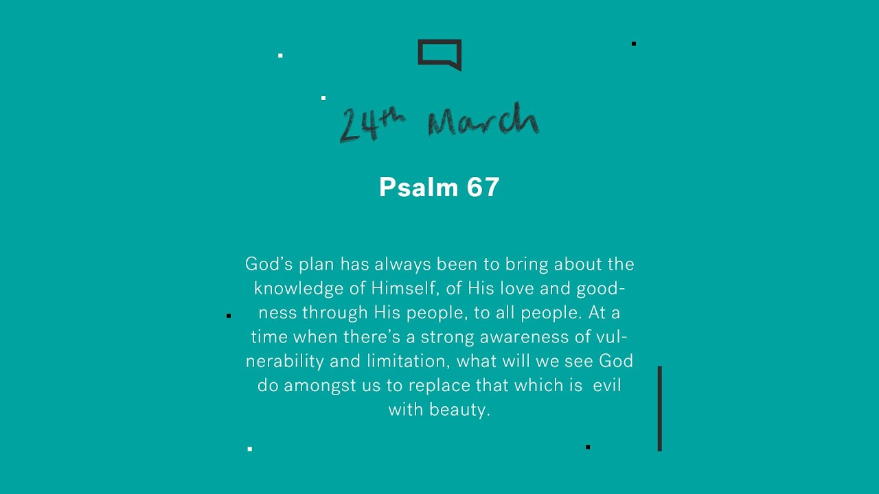 Daily Devotions // Psalm 67 Cover Image