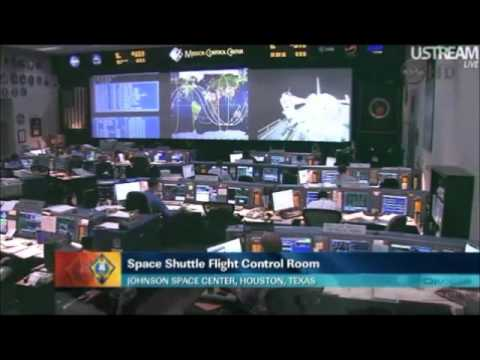 4  UFOs  CENSURED  ON   NASA live HD TV  (near ISS and Shuttle)