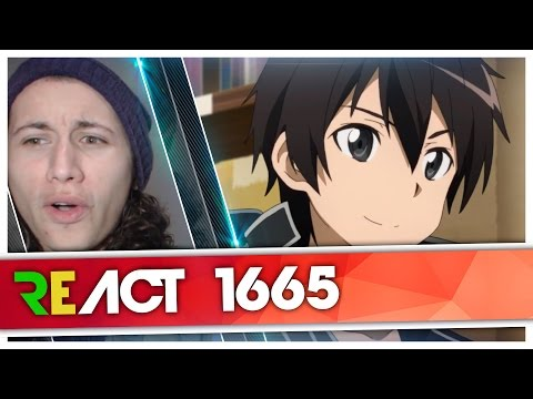 React 1665 Rap do Kirito (sword art online) [ft.Sora] | Canal Beats