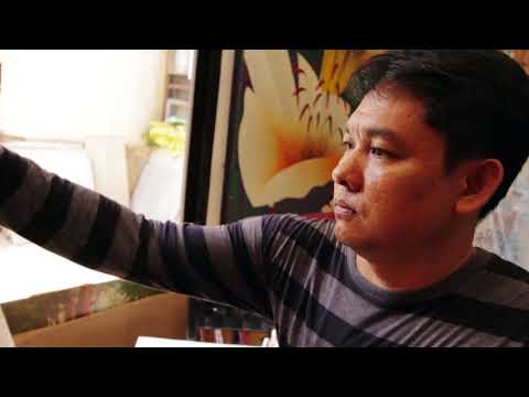 Inside the Artist's Studio | ADRIAN MORALES