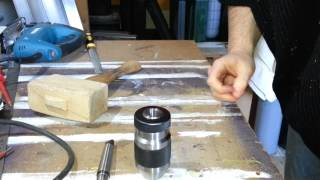 Reseating The Chuck On A Drill Press