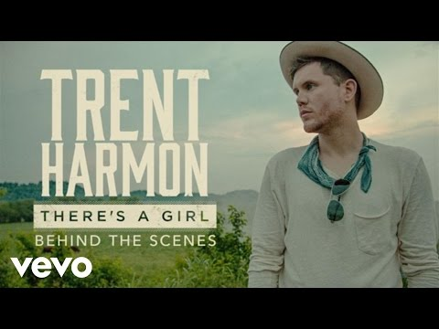 Trent Harmon - There's A Girl (Behind The Scenes)