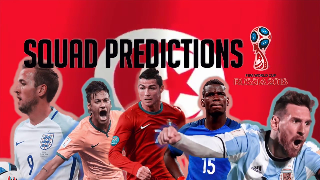 06a3b8a3bb9 Tunisia Squad Predictions for the 2018 World Cup - YouTube