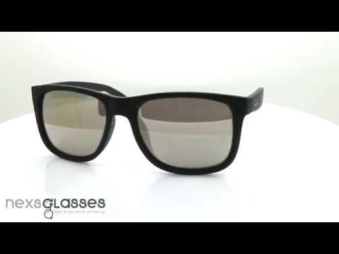 แว่นกันแดด RAY-BAN JUSTIN CLASSIC RB4165F 622/5A 55