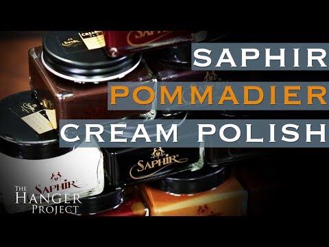 Saphir Pommadier Cream Shoe Polish