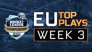 RLCS League Play Week 3 - EU Top 5