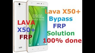 How to remove lava iris 50 Frp lock without Pc no need wifi - Custom
