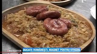 Mancarea traditionala romaneasca, magnet pentru turistii straini