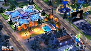 SimCity BuildIt Romantic Movie Set