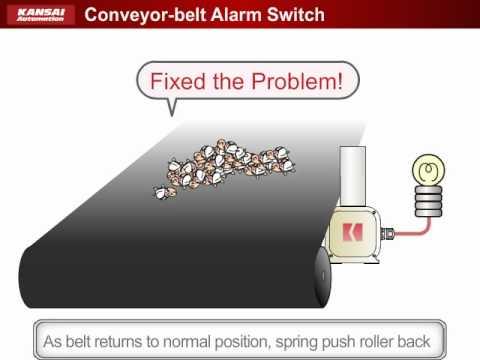 Equipment For Conveyor Lines (Conveyor Belt Alarm Switch)