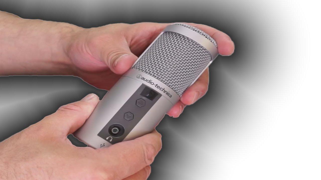 Audio Technica ATR2500 USB Condenser Microphone: Examination Plus Bonus!  Static Fix!