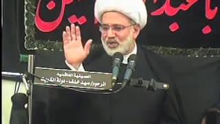 الشيخ زهير الدرورة - الإمام الحسين عليه السلام يشكل وجود فلك النبوة والإمامة والخلافة