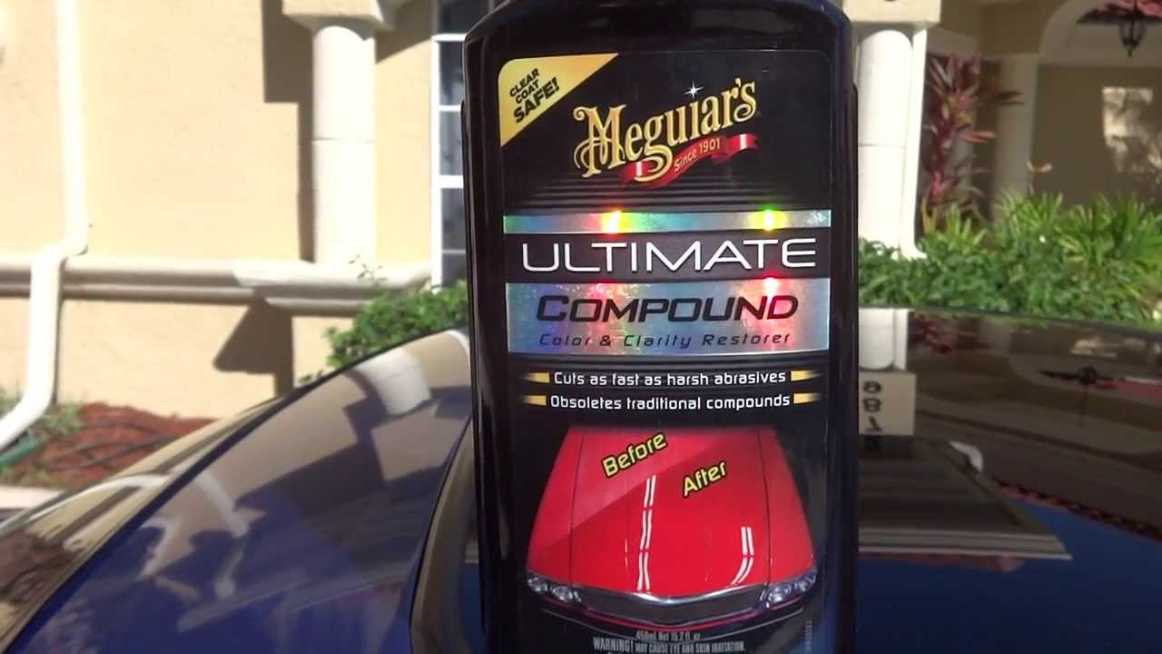meguiars ultimate compound review and test results before. Black Bedroom Furniture Sets. Home Design Ideas
