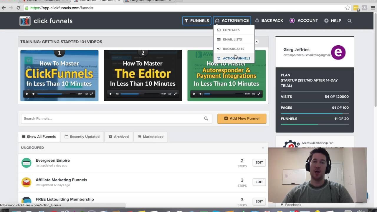 Using Clickfunnels for Email Marketing