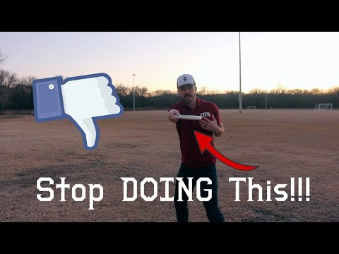 Stop Reaching DIRECTLY back! | How to correct this common mistake and misconception |  Disc Golf