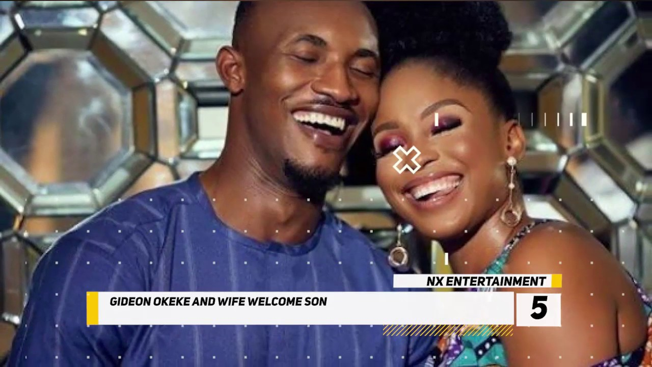 Download Gideon Okeke is The Happiest Man Right Now as He Welcomes New Baby Boy With Wife. #NXEntertainment