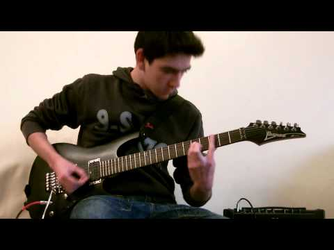 Seventh day Slumber - My Struggle (Guitar Cover by T.R.)