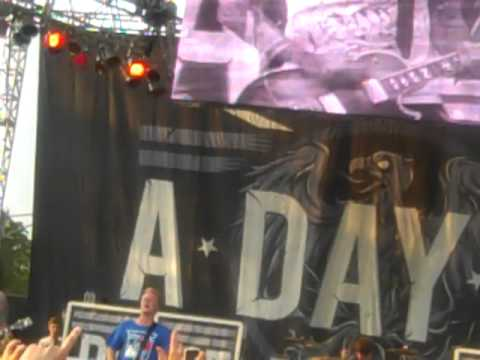 A Day to Remember- Since U Been Gone (Riot Fest Chicago 2012)