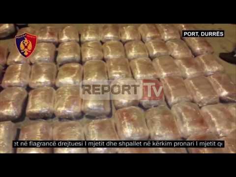 Durrës, 207 kg kanabis me autobus drejt Italisë, droga kapet në Port
