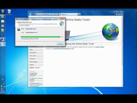 How to download and install Online Radio Tuner