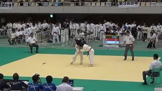 2017年 柔道女子個人63kg級 茅根×嘉重 準々決勝1