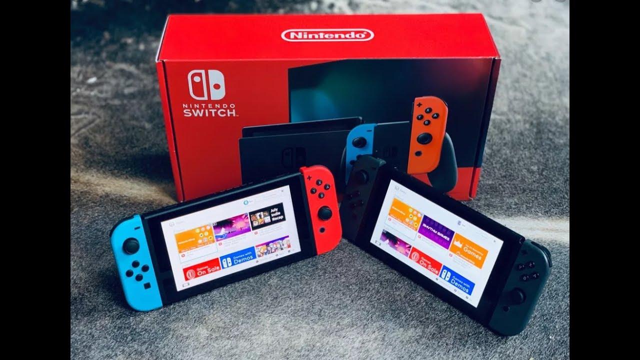 Switch V1 vs V2, [comment les reconnaître] [unboxing]