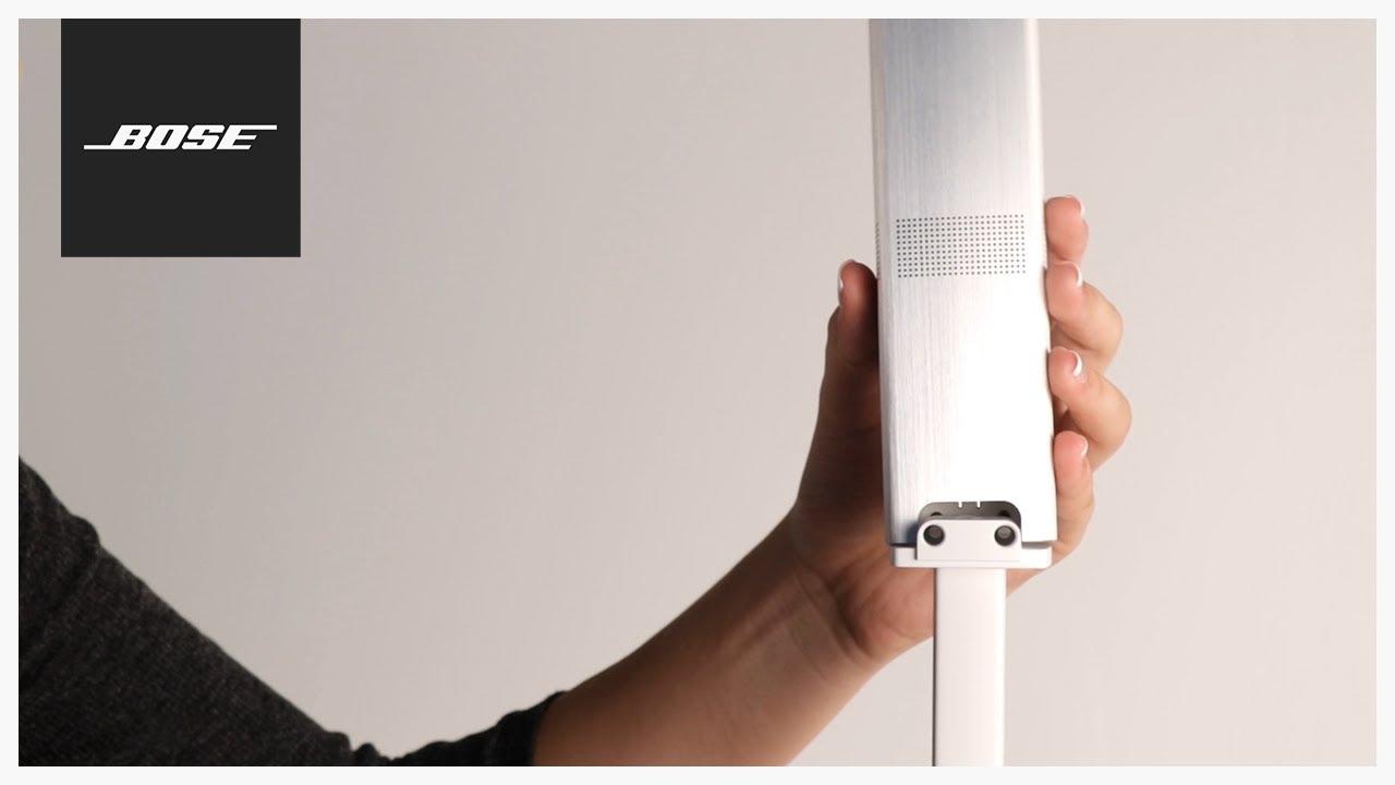 medium resolution of bose lifestyle 650 stand mounting youtube bose lifestyle 650 wiring diagram