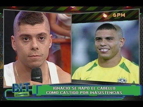 BLT: Ignacio Baladán quedó igualito a Ronaldo en el mundial del 2002