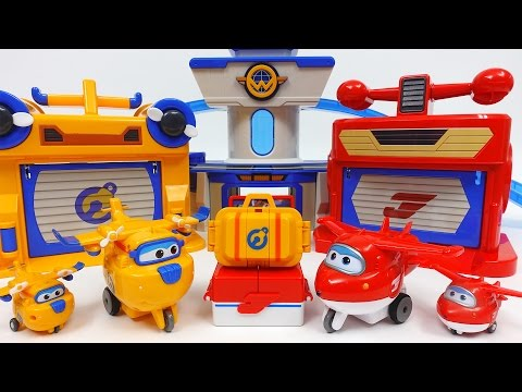 Thumbnail: Super Wings Jett's Runway and Donnie's Workshop Playset