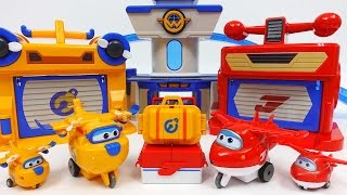 Super Wings Jett's Runway and Donnie's Workshop Playset