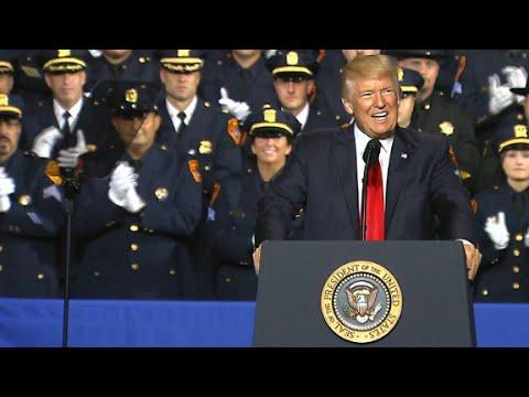 Trump's full speech on gang violence crackdown