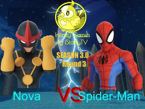 Disney Infinity Infinity Games - Season 3.0: Nova vs. Spider-Man |
