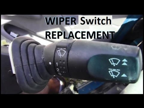 How To Replace Wiper Switch on Vehicle - YouTube