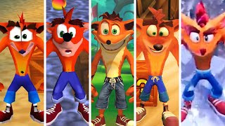 Evolution of Crash Bandicoot (1996-2020)