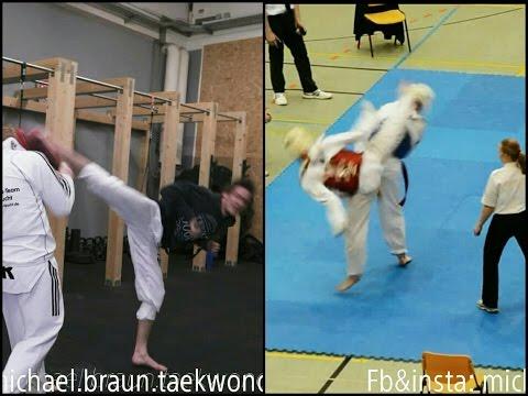 Michael Braun - Bandae Dolly Chagi training & fight