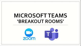30 second breakout room in Microsoft Teams
