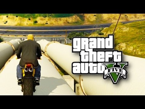 GTA ONLINE - Hipster e Moto nas Alturas! (GTA 5 Online Gameplay)
