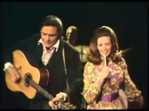 Johnny Cash and June Carter - Long Legged Guitar Pickin' Man