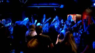 leather rebels plays judas priest heading out to the highway prkl club hellsinki 07 12 2012