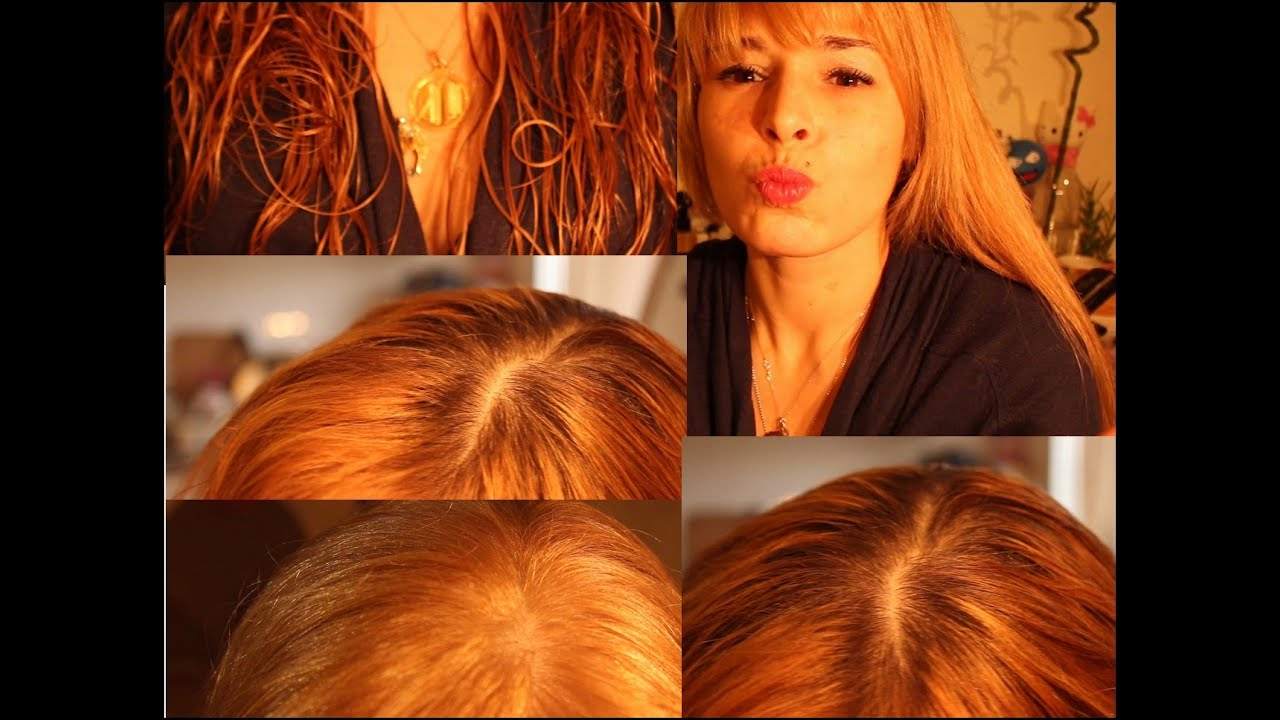 L'oreal coloration blond cuivre