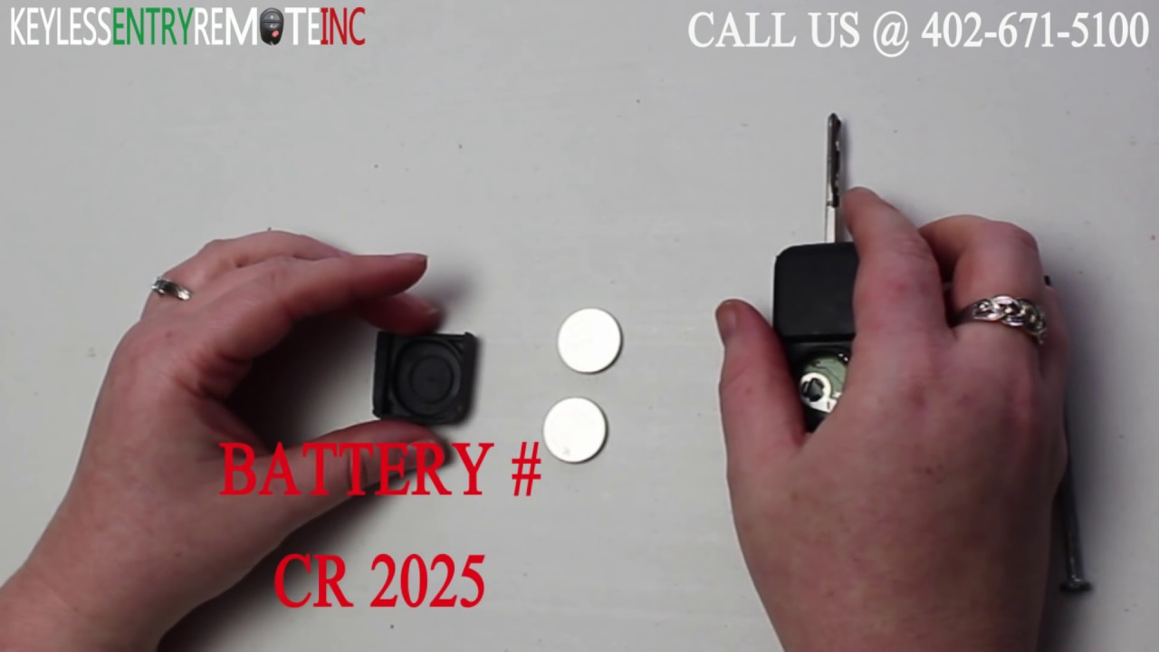 How To Replace Mercedes Benz Ml320 Key Fob Battery 1998