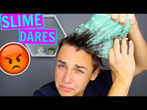 EXTREME SLIME DARES! (GONE WRONG) Slime dare challenges!
