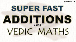 Super Fast Addition tricks using Vedic Maths - a few examples thumbnail