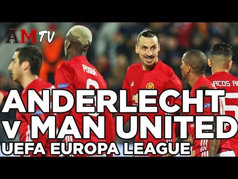 RSC Anderlecht v Manchester United | UEFA Europa League | 13 April 2017