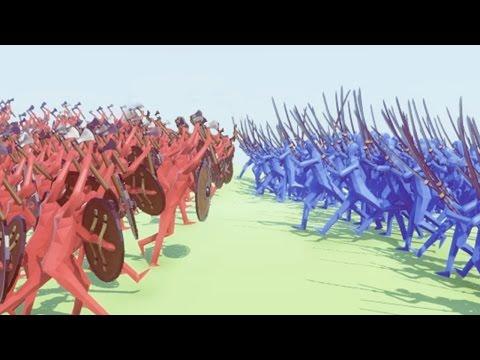 1000 SAMURAI vs. 1000 VIKINGS! (Totally Accurate Battle Simulator)