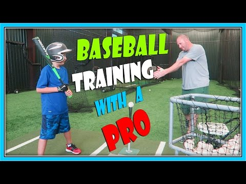BASEBALL TRAINING WITH A PRO | ERIKTV365